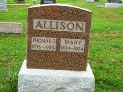 Mary <i>Hart</i> Allison