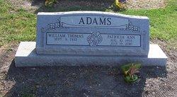 Patricia Ann Pat <i>Wallace</i> Adams