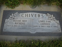 Bessie May <i>Richens</i> Chivers