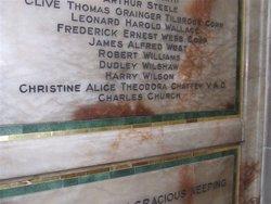 Christine Alice Theodora Chattey