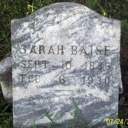 Sarah Baise