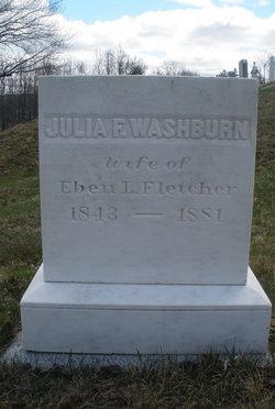 Julie Fannie <i>Washburn</i> Fletcher