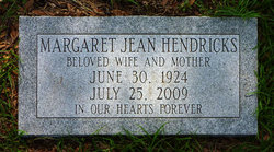 Margaret Jean <i>Beattie</i> Hendricks