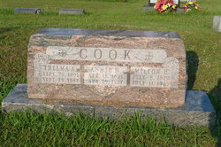 Anna May Annie <i>Morlan</i> Cook