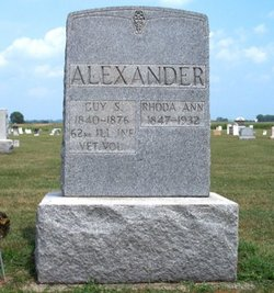 Rhoda Ann <i>Decker</i> Alexander
