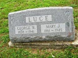 Mary Jane <i>Eastburn</i> Luce
