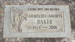 Carmelita <i>Andres</i> Baker