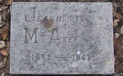 Jeannette <i>Schwartz</i> McAtee