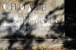 Julia <i>Wilson</i> Choate