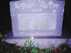 Aubrey E Clarke