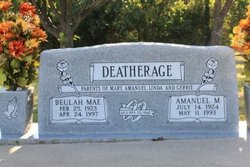 Beulah Mae <i>Shumard</i> Deatherage
