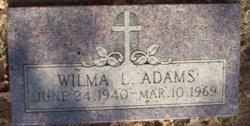 Wilma L. <i>Burge</i> Adams