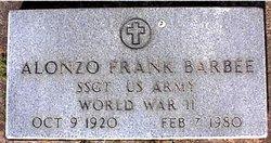 Alonzo Frank Barbee