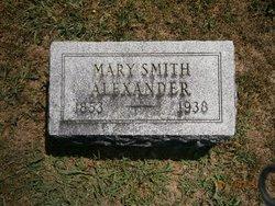 Mary <i>Smith</i> Alexander