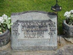 Claude <i>Melvill</i> Gardner