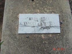 Mary Eliza <i>Yancey</i> Johnson