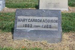 Mary Carson Addison