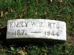 Emily <i>Whitacre</i> Barton