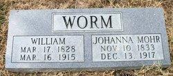 Johanna <i>Mohr</i> Worm