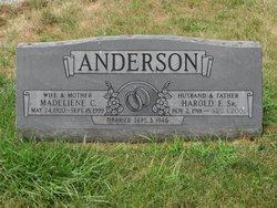 Harold Fred Anderson, Sr