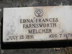 Edna Frances <i>Farnsworth</i> Melcher
