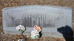 Harriett Eberta Hattie <i>Saxon</i> Allbright