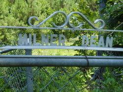 Milner - Dean Cemetery