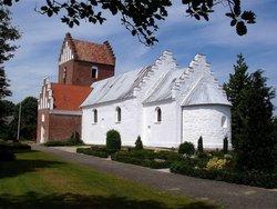 Auning Kirke and Scheelske Tomb Chapel