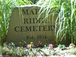Maple Ridge Cemetery
