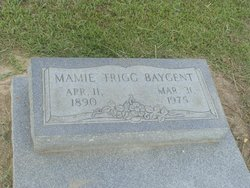 Mary Lula (Mamie) <i>Trigg</i> Baygents