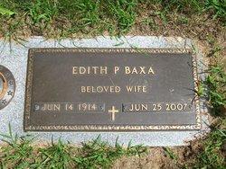 Edith P. <i>Davis</i> Baxa