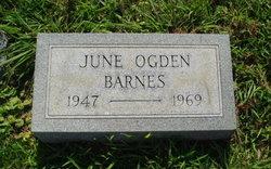 June Ogden Barnes