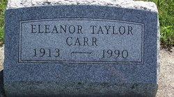 Eleanor Taylor Carr