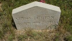 Urma Helen <i>Halferty</i> Burton