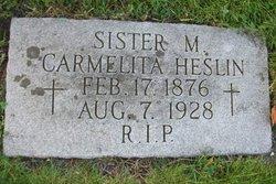 Sr M. Carmelita Heslin, IHM
