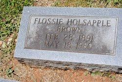 Flossie Leticia <i>Holsapple</i> Brown