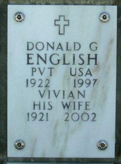 Donald Glen English