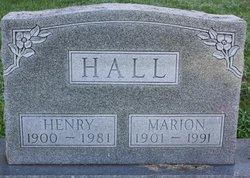Marion Evangeline <i>Bray</i> Hall