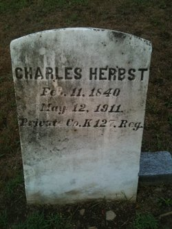 Pvt Charles Herbst