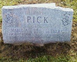 Mabel Anna <i>Rohrbach</i> Pick