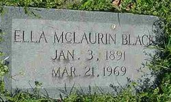 Ella <i>McLaurin</i> Black