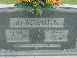 Frank Blackmon