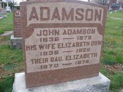 Elizabeth <i>Dow</i> Adamson