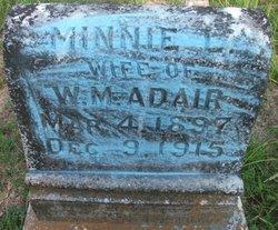 Minnie L. Adair