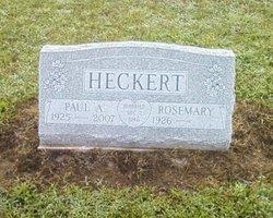Paul A. Heckert