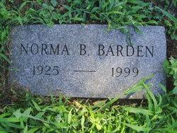 Norma B Barden
