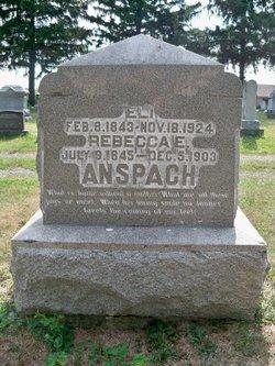 Rebecca Elizabeth <i>Hoy</i> Anspach