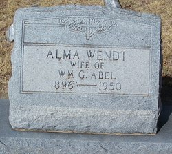 Alma <i>Wendt</i> Abel