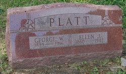 Mrs Ellen Jane Ella <i>Warner</i> Platt