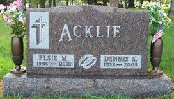 Elsie <i>Koehler</i> Acklie